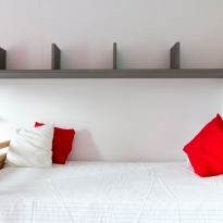 chambre rouge
